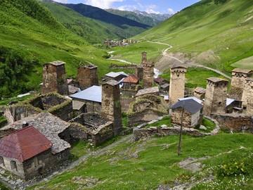 svaneti towers georgia Ushguli 21