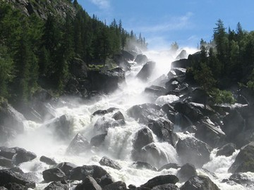 Водопад-Учар