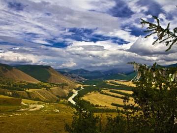 Долина р.Аргут и степь Самаха